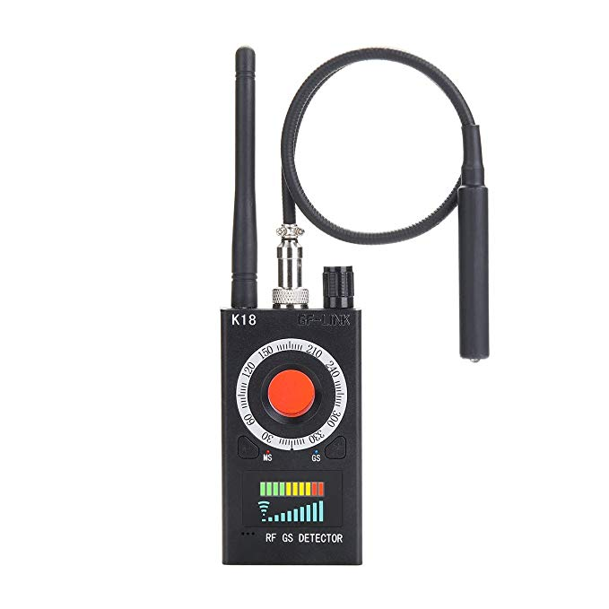 GF-LINK Bug Detectors Anti-spy Detector Camera GSM Audio Bug Finder GPS Signal Lens RF Scanner Tracker Detect Wireless Products EU Plug