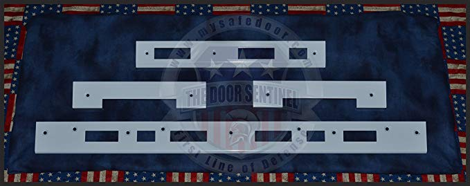 The Door Sentinel- Platinum Pack- White- NEW- From Patriot Crime Defense and MySafeDoor